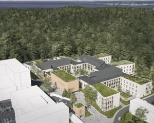 La clinica nel verde di Tampere