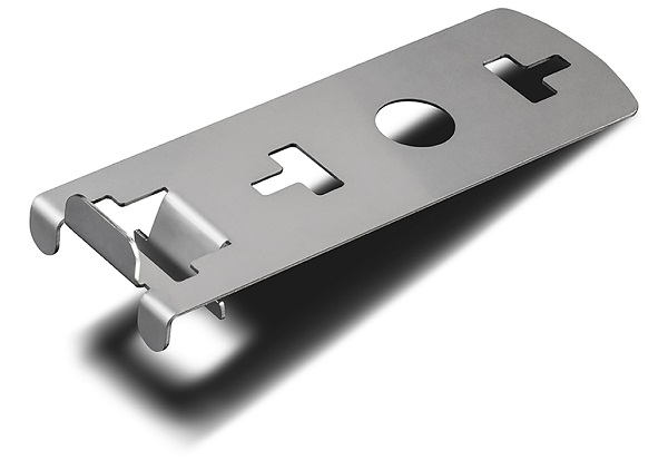 Clip bordo verticale