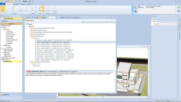 Il Codecontroller consente di controllare la corrispondenza del modello BIM in formato aperto IFC