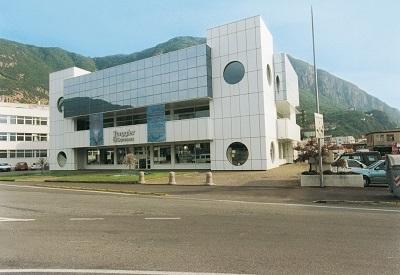 Il palazzo Torggler a Bolzano dove è allestito lo showroom Torggler Commerz