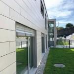 Facciate ventilate ISOTEC PARETE per le residenze di Riva San Vitale