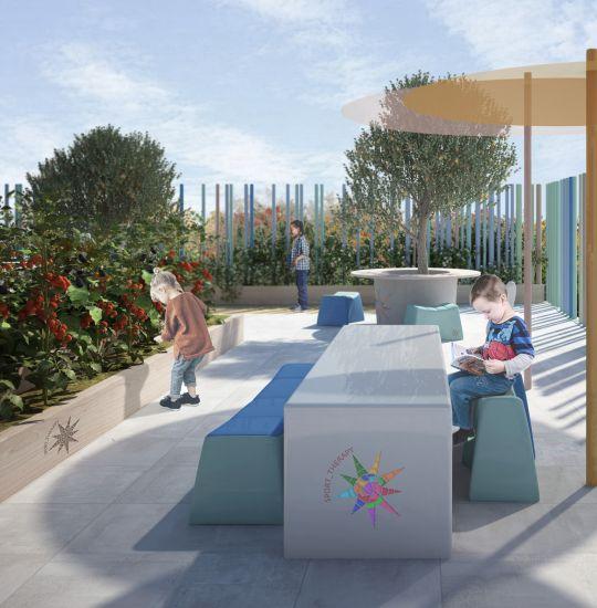 Progetto vincitore del concorso Il giardino della Sport Therapy
