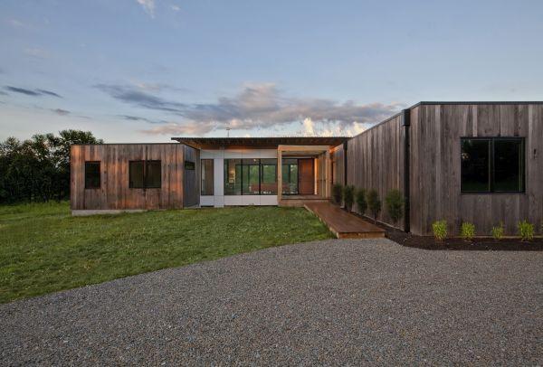 Copperwood house realizzata in frassino termicamente modificato