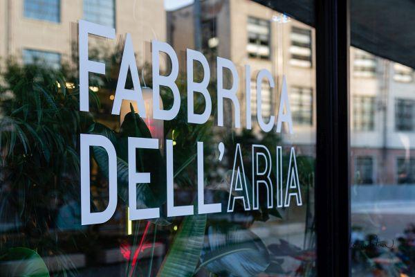 Fabbrica dell'Aria nella Manifattura Tabacchi a Firenze: Design e botanica insieme per ripulire l'aria in modo green
