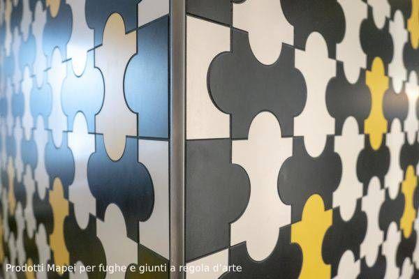 Ristorante Cracco a Milano, prodotti Mapei per la posa e fugatura di ceramica