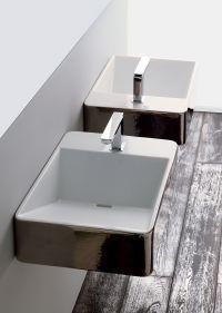 Crystal lavabo reversibile 50x40