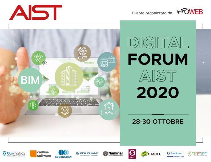 Digital Forum Aist 28/30 ottobre 2020