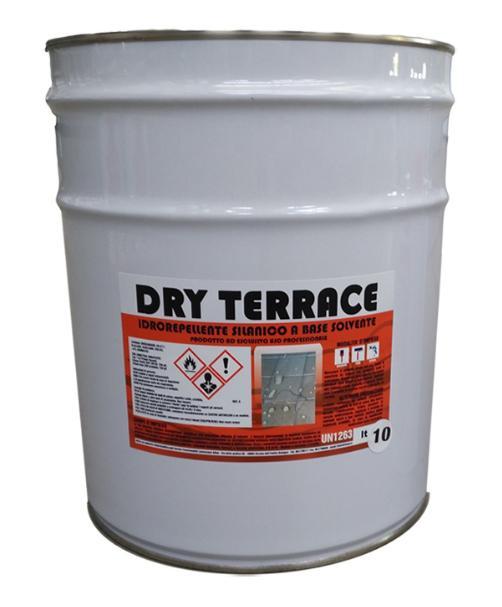 L'idrorepellente DRY TERRACE