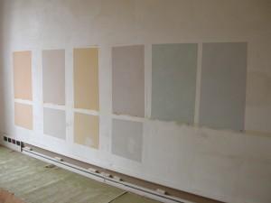 Pitture per finitura a parete di ambienti di valore storico-architettonico