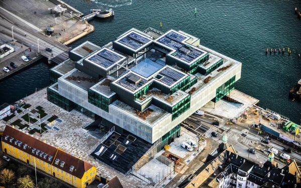 BLOX, sede di DAC - Danish Architecture Center. Strutturas vista dall'alto