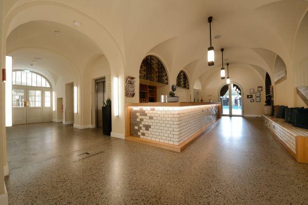 Dalla riqualificazione dello stabilimento termale di Berlino nasce l'Hotel Oderberger