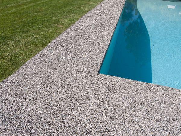 Decorstone, pavimentazioni continue in pietra naturale e resina di Bernardelli