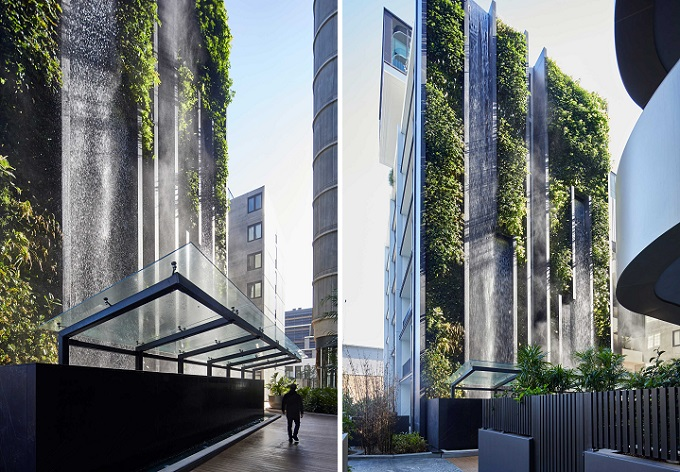 La cascata urbana di Waterloo, tra ingegneria e design
