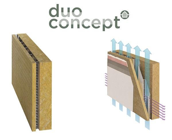 Pannello isolante DUO Concept