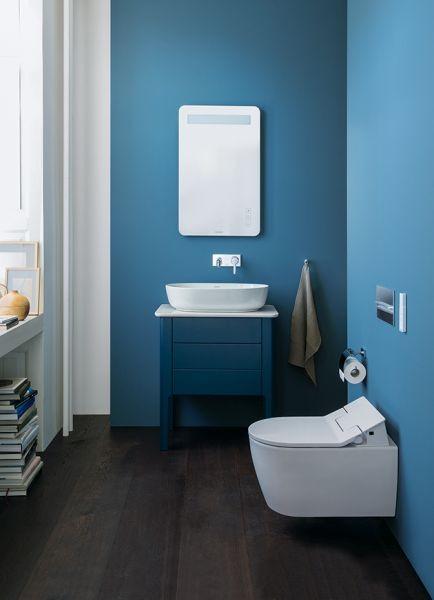 Serie di mobili da bagno per ambienti piccoli Duravit Luv