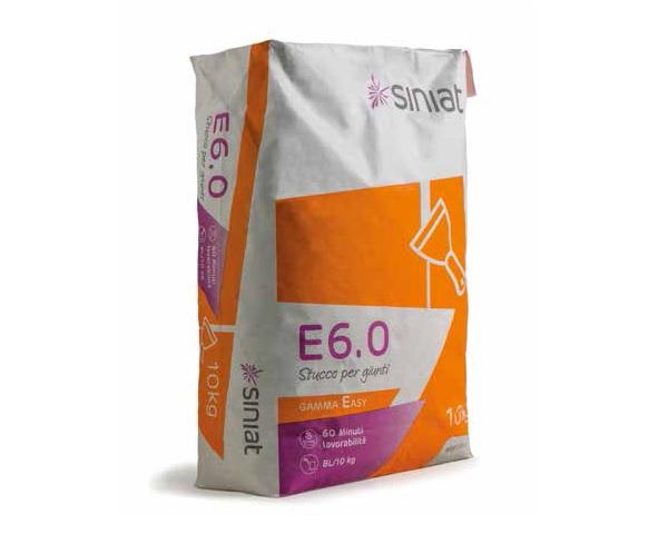 Sacco di stucco E6.0 Gamma Easy
