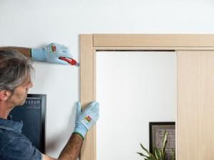 Cambiare il binario di una porta scorrevole è facile!