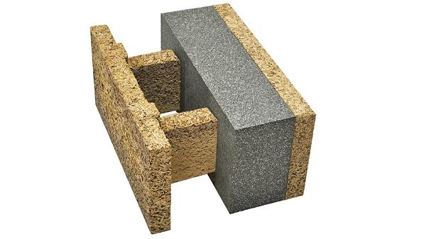 Blocchi cassero in legno cemento