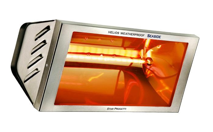 Riscaldatori a parete Helios Radiant IRK mod.EH2000W2SS