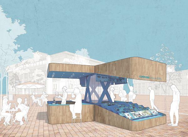 L'edicola del futuro, progetto EL EQUIPO MAZZANTI