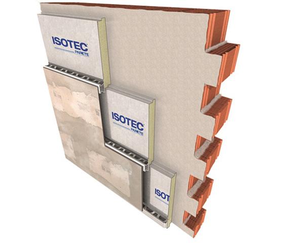 ISOTEC + ELYCEM  è la soluzione di facciata ventilata di Brianza Plastica che unisce il sistema termoisolante alla lastra in fibrocemento.