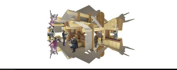 Edicola del futuro, progetto Rotative di Benedetta Tagliabue