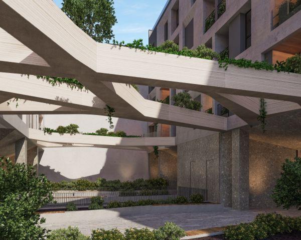 L'elegante complesso di Milano in stile liberty, Menotti 11