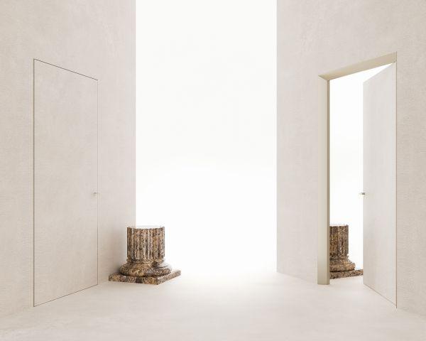 Design e innovazione per ECLISSE 40 Collection, l'evoluzione della porta filo muro