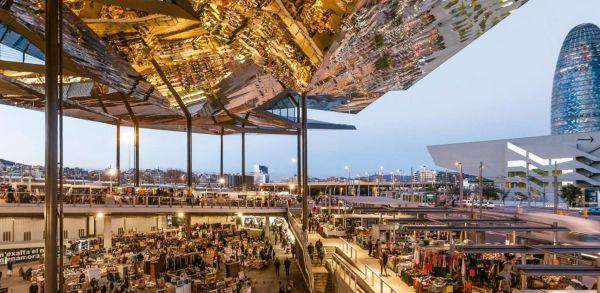 Il nuovo mercato Del Encants di Barcellona