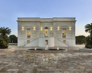Fassa per il restauro storico di Villa Morelli a Monopoli