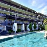 Fassa per l'Hotel Giardino Marling a Marlengo