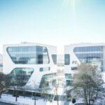 Una facciata intelligente con cristalli liquidi per il nuovo Hq di FC Ingenieure