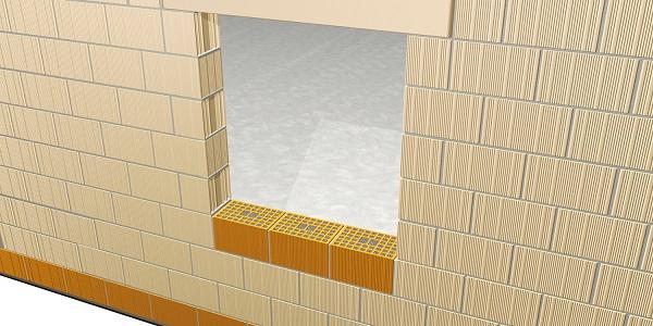 Applicazione del blocco isolante Normablock Più Taglio Termico