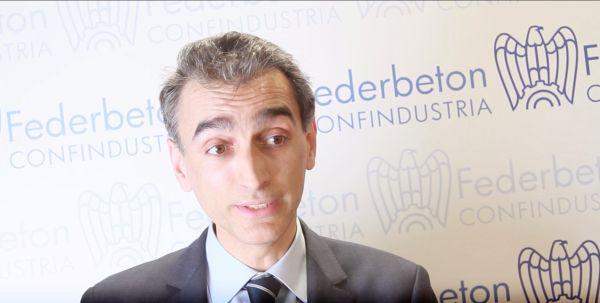 Antonio Buzzi, coordinatore della commissione Ambiente ed economia circolare di Federbeton
