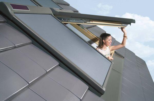 Finestra per tetti a doppia apertura di fakro - Doppia finestra per isolamento acustico ...