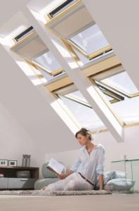 Finestra per tetti a doppia apertura 2