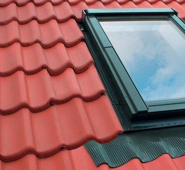 Lucernario installato su tetto