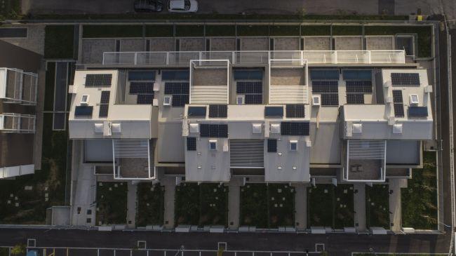 Fakro, finestre da tetto piatto per un progetto di Social housing a Prato