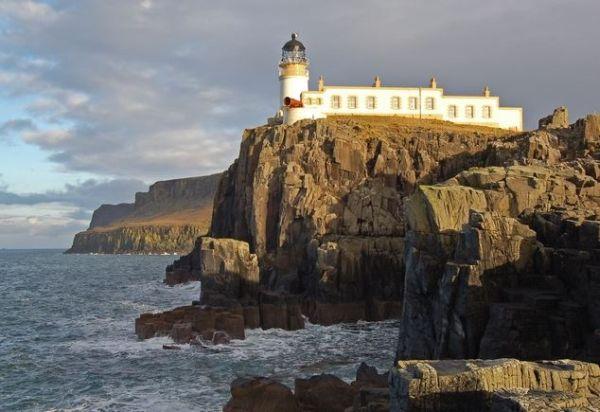 Dal Faro di Neist Point - Isola di Skye, Scozia se si è fortunati si possono vedere le balene