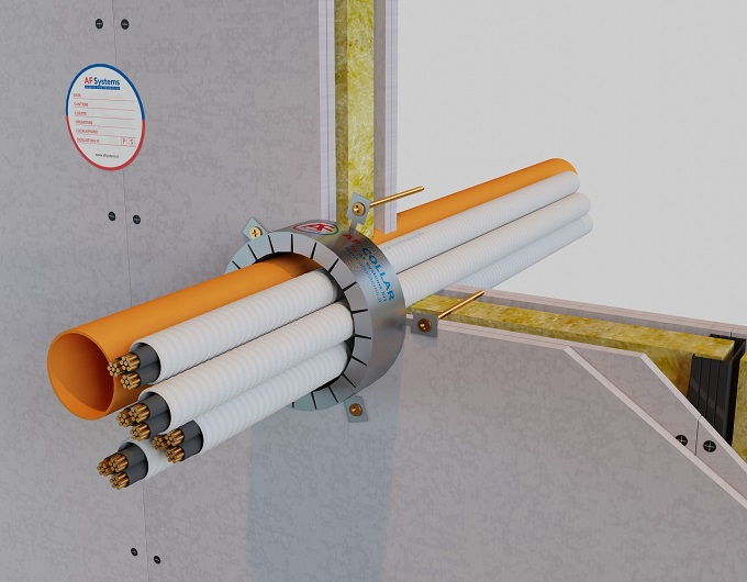 Protezione degli attraversamenti di tubazioni combustibili