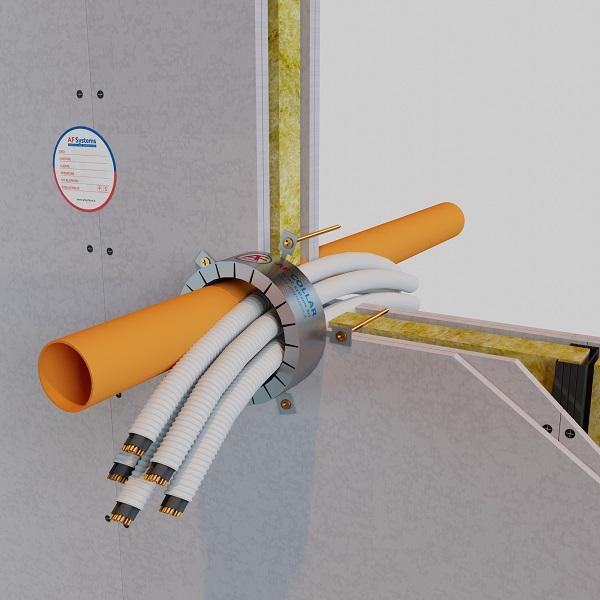 Fascio Corrugati + PVC Parete Flessibile