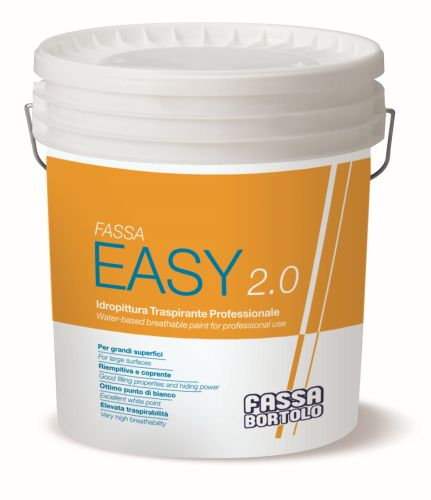 FASSA EASY 2.0: l'idropittura professionale per interni.