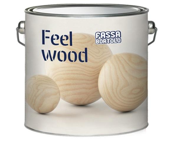 FEEL WOOD di Fassa, la linea di impregnanti e finiture per il trattamento del legno