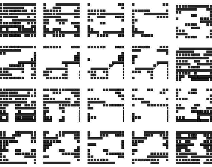 Final Wooden House: le sezioni mostrano le mutazioni spaziali