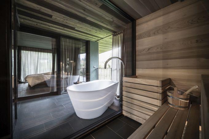 L'interno delle nuove suite Floris del Parc Hotel Florian a Siusi allo Sciliar