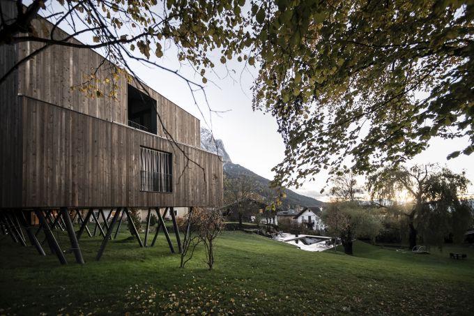 Le nuove suite Floris del Parc Hotel Florian a Siusi immerse nel parco