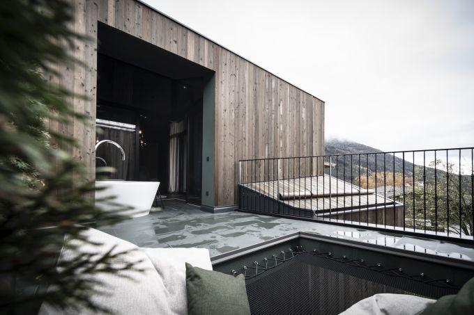 Gli interni delle nuove suite Floris del Parc Hotel Florian a Siusi