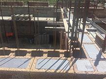 Blocchi cassero e solai in legno-cemento