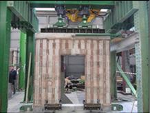Report sperimentale su pareti realizzate con blocchi in legno cemento