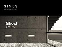 Una lama di luce che nasce dal cemento – Ghost di SIMES